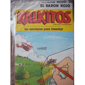 Kalkitos El Barón Rojo Nuevo !!! Sin Uso !!