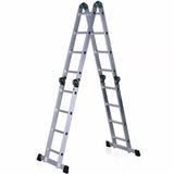 Escaleras Andamio Aluminio Multifuncion 4.5m 16 Escalones