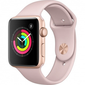 Relógio Apple Watch Serie3 42mm Rose Gold Sport Pt Entrega