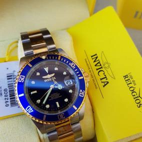 Relógio Invicta Pro Diver 8928ob Original Prata C/ Dourado