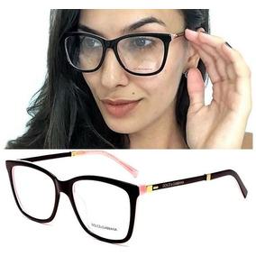 b9578e1488a24 Armação De Óculos Grau Feminino Dg3126 Original Acetato