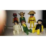 Lote De 8 Articulos Playmobil Año 1974 Todo $1500