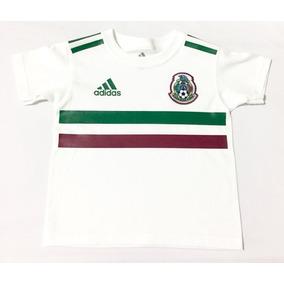 Playera Seleccion Mexicana Blanca 2018 Niño ac8779e2c2d0d