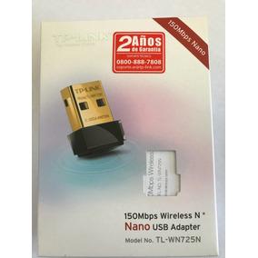 Adaptador Usb Nano Inalámbrico Tl-wn725n Conexión A Red