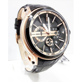 Relógio Orient Masculino Cronógrafo Mrscc015 Pulseira Couro