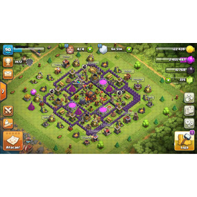 Conta Clash Of Clans Cv 10