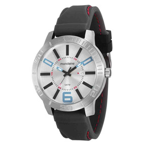 c9b48632f19 Relógio Masculino Mondaine Pulseira De Silicone 99003g0mvnu1