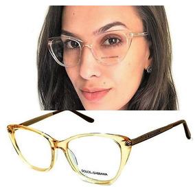 Armação Oculos Grau Top Premium Original Dg3127 Gatinho efb42c0832