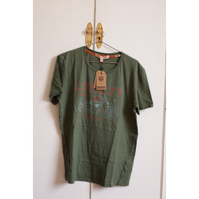 Remera Herencia Argentina Verde Sin Uso Talle M