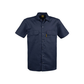Camisa De Trabajo Manga Corta Gabardina Resistente Disershop