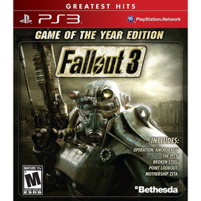 Fallout 3: Game Of The Year Ps3 Mídia Física Lacrado