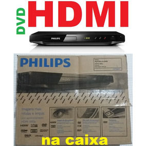 Dvd Player Philips Dvp3680kx/78 Na Caixa Hdmi Visor Karaokê