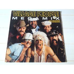 Megamix Ymca 89 Remix Village People Vinilo Maxi