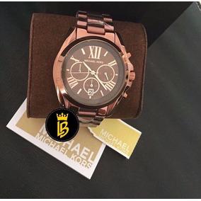 Relógio Michael Kors Mk5628 Chocolate Lindo À Pronta Entrega ... 6068effa5c