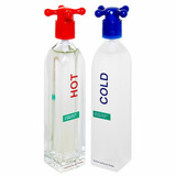 Pack Perfumes Hot And Cold Unisex By Benetton Edt 100ml