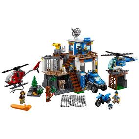 Lego Lego City - Quartel-general Da Polícia Na Montanha