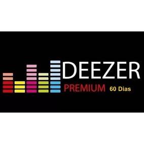 Deezer Pré Pago Conta Premium 60 Dias