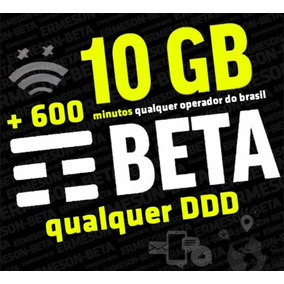 Tim-beta Convite 10gb+600minutos Garantido