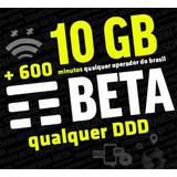 Tim-beta Convite 10gb+600minutos Garantido