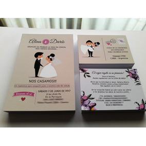 Tarjetas Casamiento Souvenirs para Casamientos en Mercado Libre