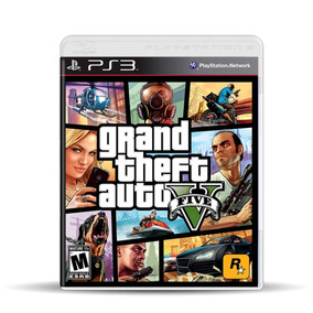 Grand Theft Auto V Gta V (nuevo) Ps3, Físico, Macrotec
