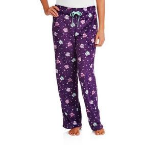 Pantalon Pijama Americano Para Dama Talla L