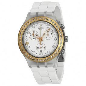 Reloj Pulsera Swatch Full Blooded Metal Plateado Svck4067ag