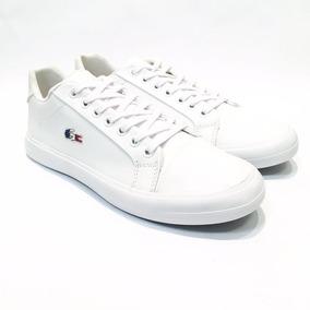 Sapatênis Branco - Couro