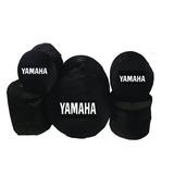Fundas Batería Yamaha Musical Profesional 5 Pzas. Acojinadas
