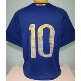 8a25d4971b Camisa Azul Brasil 2010 - Futebol no Mercado Livre Brasil