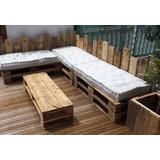 Sillones Palets Madera Todo Para Living En Mercado Libre Uruguay - Sillon-palets-madera