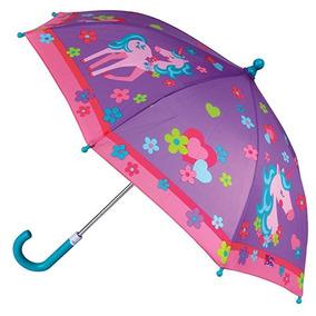 Sombrilla Paraguas Stephen Joseph Unicornio Niña Moda Morado