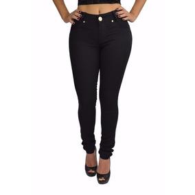 Calça Jeans Feminina Cintura Alta Com Lycra Lançamento 2017