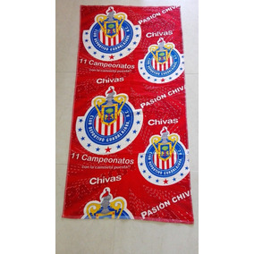 Toalla Chivas Guadalajara Liga Mx Gran Calidad