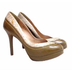 Sapato Feminino Em Couro Legítimo Carolina Martori