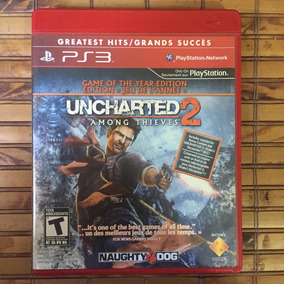 Jogo Ps3 - Uncharted 2 Among Thieves - Frete Barato