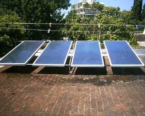 Paneles solares de calentar agua casas industrias y for Piscina solares