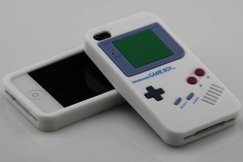 carcasa iphone game boy