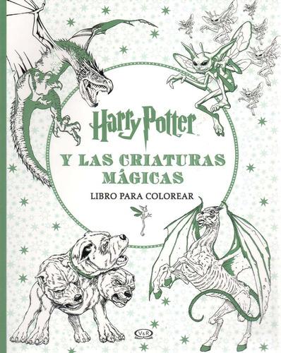 Libro: Harry Potter Y Las Criaturas Mágicas (para Colorear) - $ 690 ...