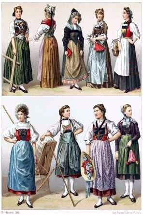 Fotos de mujeres con vestidos antiguos