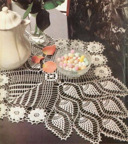 Senderos De Mesa, Carpetas Manteles Crochet - $ 11,00 en Mercado Libre