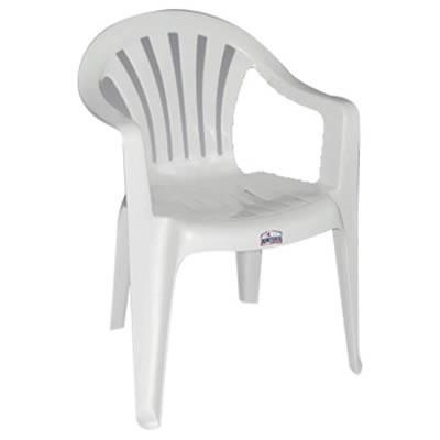 sillas pl sticas blancas con posa brazo 450 00 en