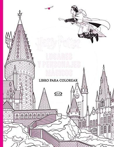 Harry Potter Lugares Y Personajes Magicos - Colorear Bliss, - $ 628 ...