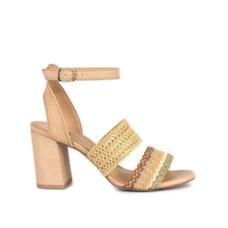 a2ec0e806 Tanara Sandalia Salto Grosso - Sapatos no Mercado Livre Brasil