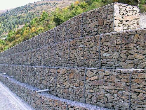 Gaviones De Alambre Muros De Contencion precio X M3 105000