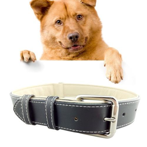 258239d0dc4c Cuero Para Mascota Collar Perro Producto Grande 2 42cm Rojo -   1.584