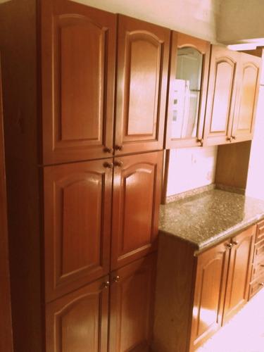 Mueble Modular Para Cocina De Madera Con Mesada De Granito - $ 7.300 ...