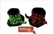 Sombrero Galera De Tela Fluo C  Flor Grande Para Quinceañera · Cotillòn  Gorro Terciopelo Fluo Grande Onfire Store! 1f3f346add3
