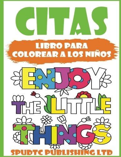Libro : Citas: Libro Para Colorear A Los Niños - Spudtc... - $ 619 ...