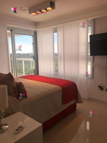 a estrenar hermoso 1 dormitorio finamente decorado en zona brava  - ref: 8289